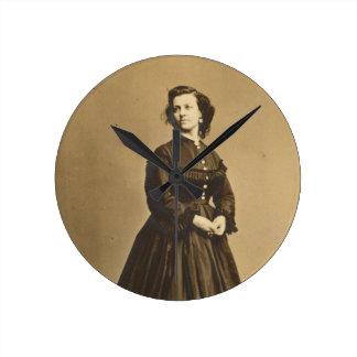 Portrait of Union Spy Pauline Cushman Wallclocks