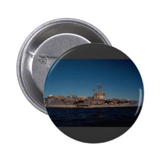 """Portrait of """"USS Nimitz"""", nuclear powered carrier, Buttons"""