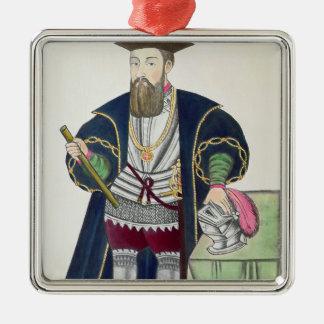Portrait of Vasco de Gama Christmas Ornament