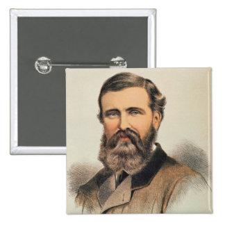 Portrait of Verney Lovett Cameron 15 Cm Square Badge