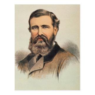 Portrait of Verney Lovett Cameron Postcard