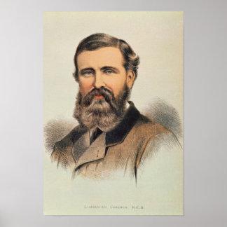 Portrait of Verney Lovett Cameron Poster
