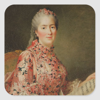 Portrait of Victoire of France Square Sticker