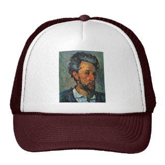 Portrait Of Victor Chocquet By Paul Cézanne Mesh Hat