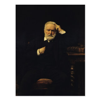 Portrait of Victor Hugo  1879 Postcard