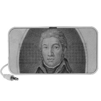Portrait of Victor Moreau iPod Speaker