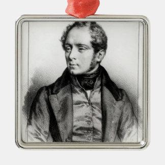 Portrait of Vincenzo Bellini Christmas Ornament