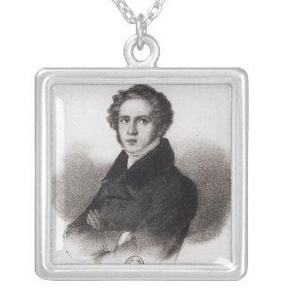 Portrait of Vincenzo Bellini Personalized Necklace