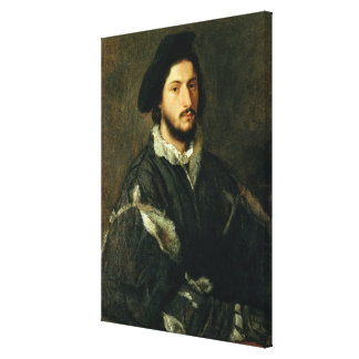 Portrait of Vincenzo Mosti (oil on canvas) Stretched Canvas Prints