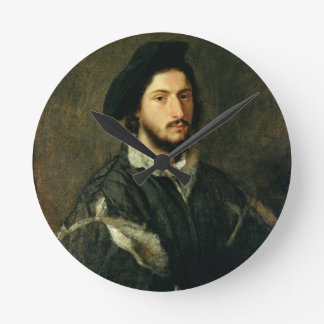 Portrait of Vincenzo Mosti (oil on canvas) Wall Clocks
