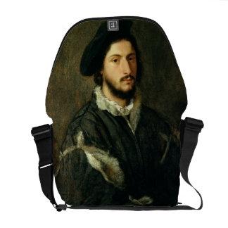 Portrait of Vincenzo Mosti (oil on canvas) Courier Bag