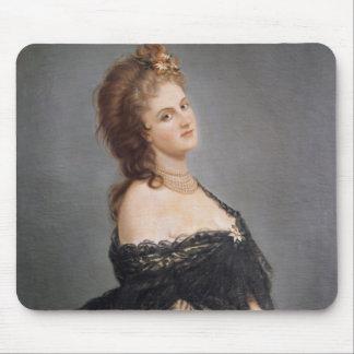 Portrait of Virginia Oldoini Mouse Pad