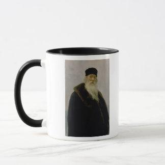Portrait of Vladimir Vasil'evich Stasov  1900 Mug