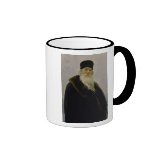 Portrait of Vladimir Vasil'evich Stasov  1900 Ringer Mug