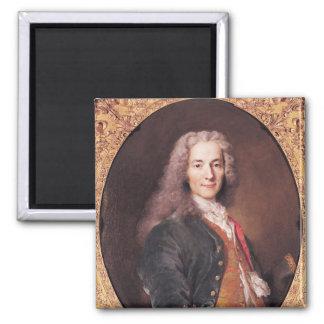 Portrait of Voltaire  aged 23, 1728 Magnet