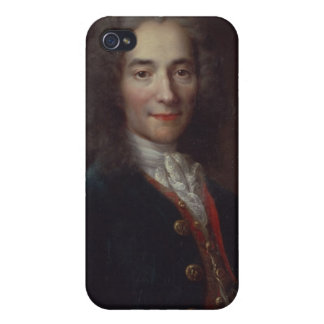 Portrait of Voltaire Cover For iPhone 4