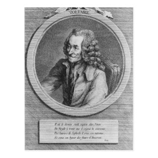 Portrait of Voltaire, from a drawing Postcard