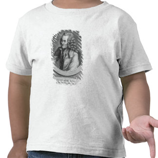Portrait of Voltaire, from a drawing Tee Shirt
