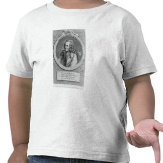 Portrait of Voltaire, from a drawing T Shirts