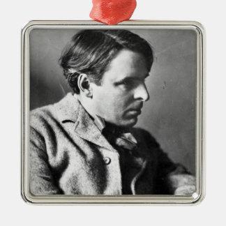 Portrait of W.B. Yeats Christmas Ornament