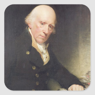 Portrait of Warren Hastings (1732-1818) at his Des Square Sticker