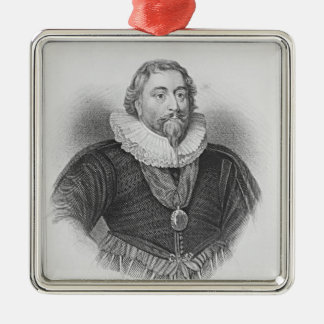 Portrait of Weston 'Lodge's British Portraits' Christmas Ornament