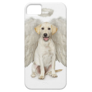 Portrait of white Labrador retriever wearing iPhone 5 Cover
