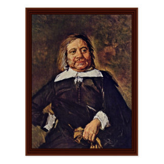 Portrait Of Willem Croes By Hals Frans Post Cards