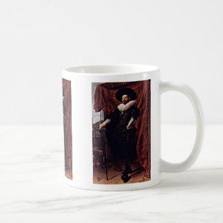 Portrait Of Willem Van Heythuyzen By Hals Frans Coffee Mug