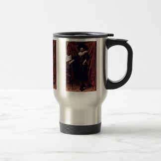 Portrait Of Willem Van Heythuyzen By Hals Frans Stainless Steel Travel Mug