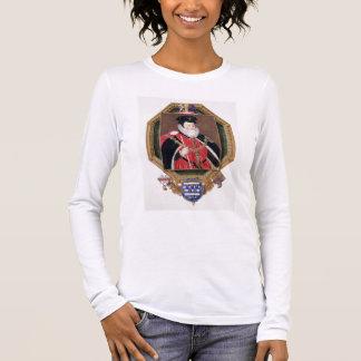Portrait of William Cecil (1520-98) 1st Baron Burg Long Sleeve T-Shirt