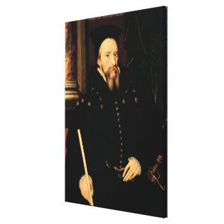 Portrait of William Cecil Canvas Print