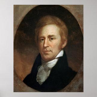 Portrait of William Clark, c.1807 Poster