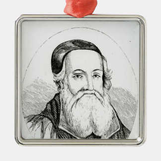 Portrait of William Grindal Christmas Ornament