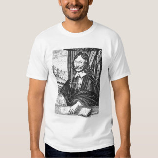 Portrait of William Lilly (1602-81), from his 'Chr T-shirts