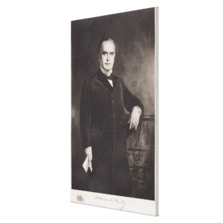 Portrait of William McKinley (litho) Canvas Print