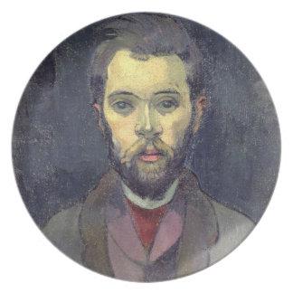 Portrait of William Molard (1862-1936), Swedish (o Party Plate