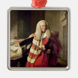 Portrait of William Murray Christmas Ornament