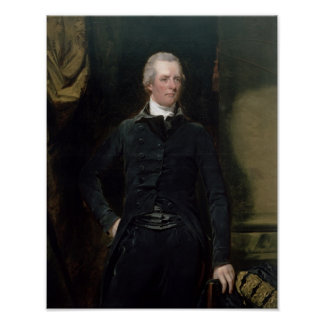 Portrait of William Pitt the Younger Print
