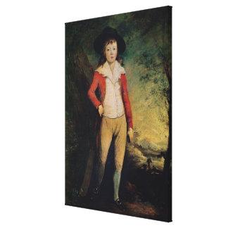 Portrait of William Seward Gallery Wrapped Canvas