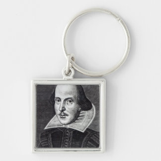 Portrait of William Shakespeare Key Ring