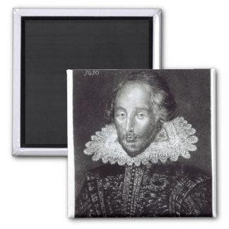 Portrait of William Shakespeare Magnet