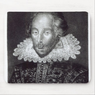 Portrait of William Shakespeare Mouse Mat