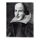 Portrait of William Shakespeare Postcard