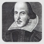 Portrait of William Shakespeare Sticker