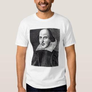 Portrait of William Shakespeare Tee Shirt