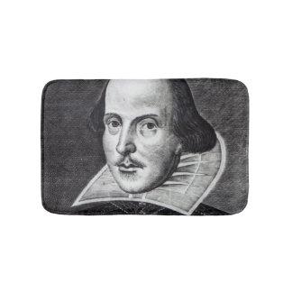 Portrait of William Shakespeare Bath Mats
