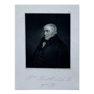Portrait of William Smith Poster