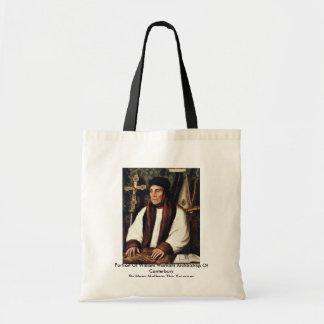 Portrait Of William Warham Archbishop Bags
