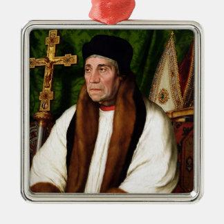 Portrait of William Warham Christmas Ornament